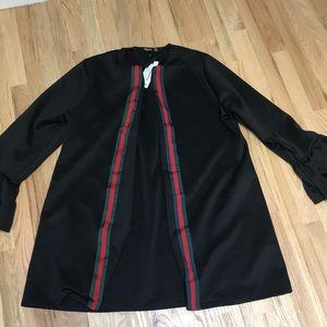 Boohoo longline blazer